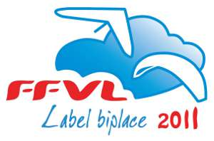 Label Biplace parapente FFVL